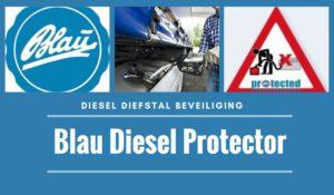 Diesel diefstal beveiliging