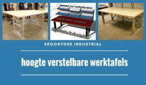 ErgoStore Industrial hoogte verstelbare werktafels