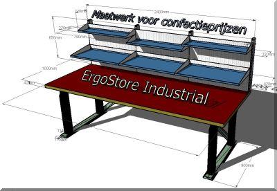ErgoStore Industrial werktafels