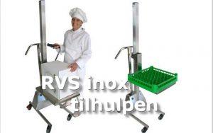 RVS Inox tilhulpen