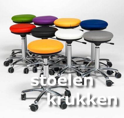 ErgoStore stoelen en krukken